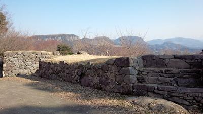 角牟礼城 3の丸 石垣④
