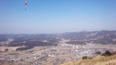 玖珠城 眺望②