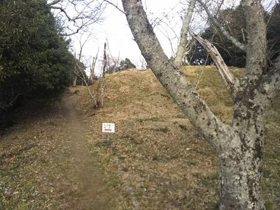 神辺城本丸跡へ