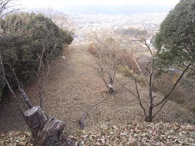 神辺城本丸跡から