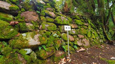 屋敷枡形の石垣