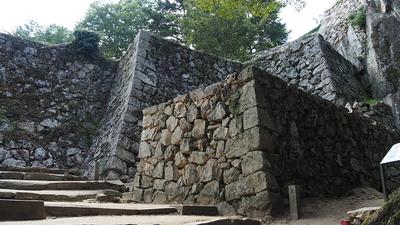 石垣(大手門跡)