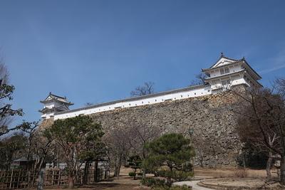 西の丸 わノ櫓、かノ櫓