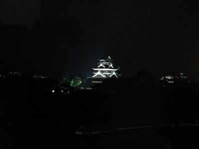 ライトアップ(市役所14階から)