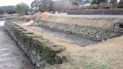 玖島城 お船蔵跡②