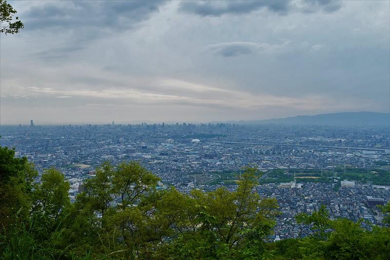 大阪の街 眺望