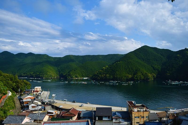 本丸跡(三木小学校前)からの眺望