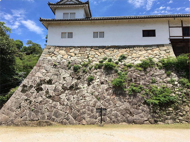 天秤櫓の石垣[彦根城]
