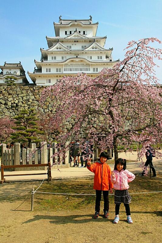 はじめての姫路城