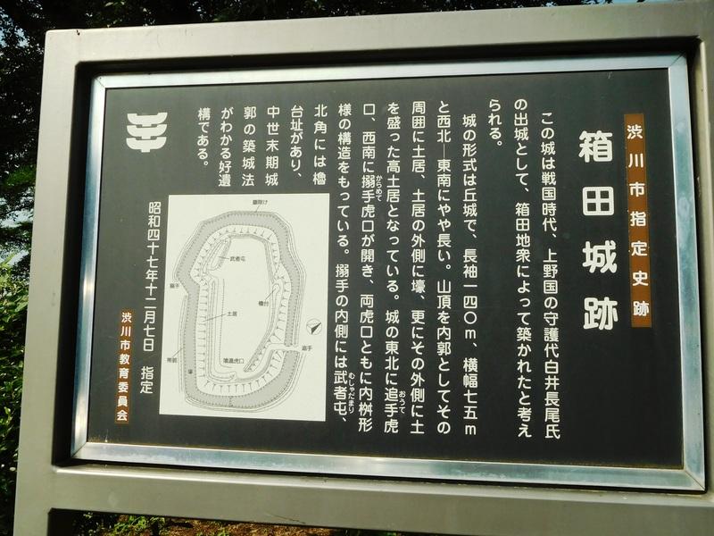 箱田城の写真:案内板 | 攻城団