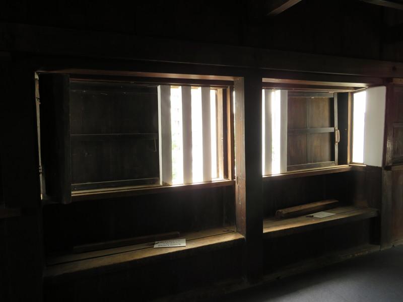 東南隅櫓(出窓部分)