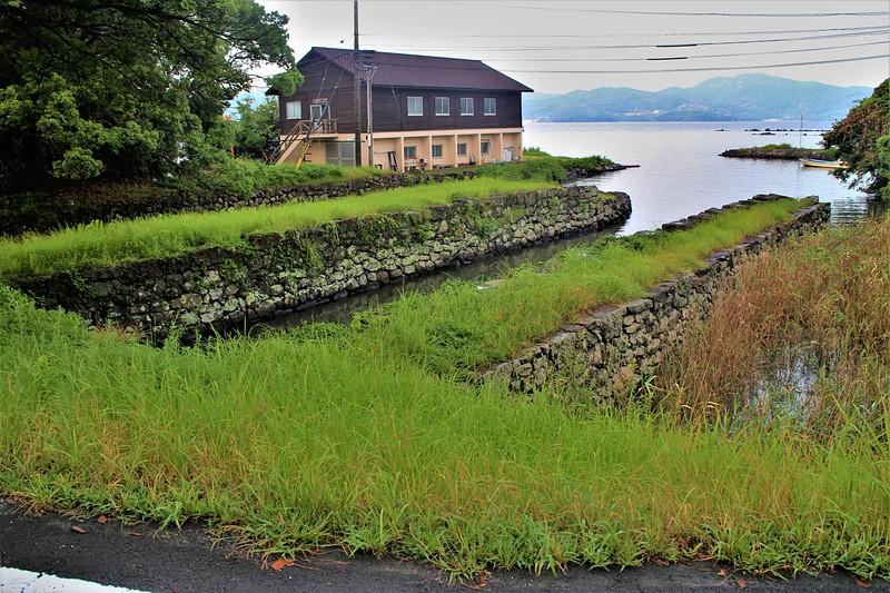 お船蔵跡(東側)