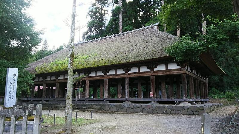 新宮熊野神社長床(国重要指定文化財)