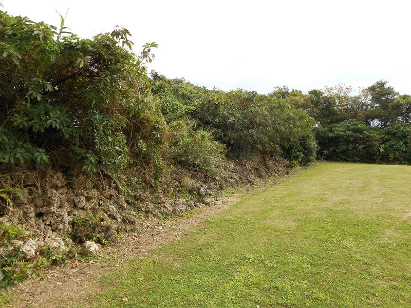 クバカ城石垣