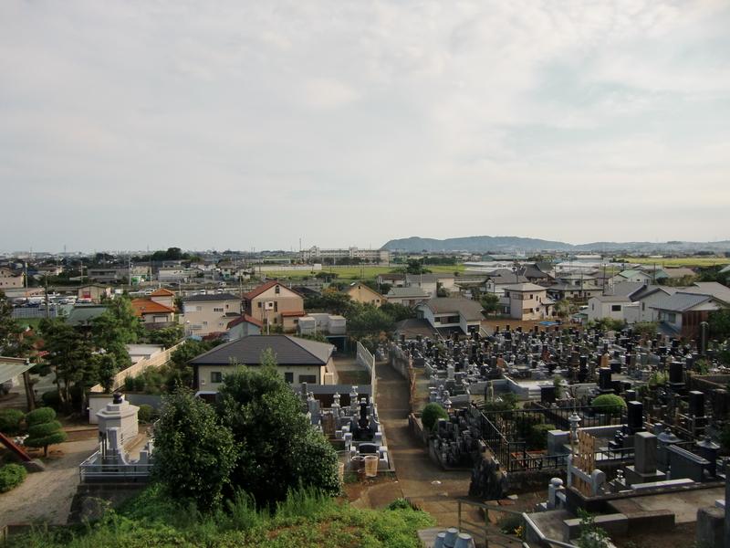 墓地からの眺望