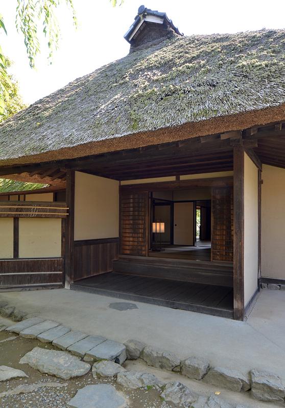 旧横田家住宅玄関(式台付)
