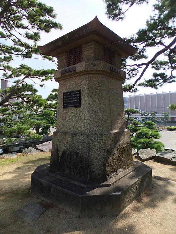 徳島城のラジオ塔