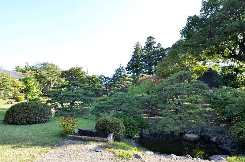 真田邸(庭園)