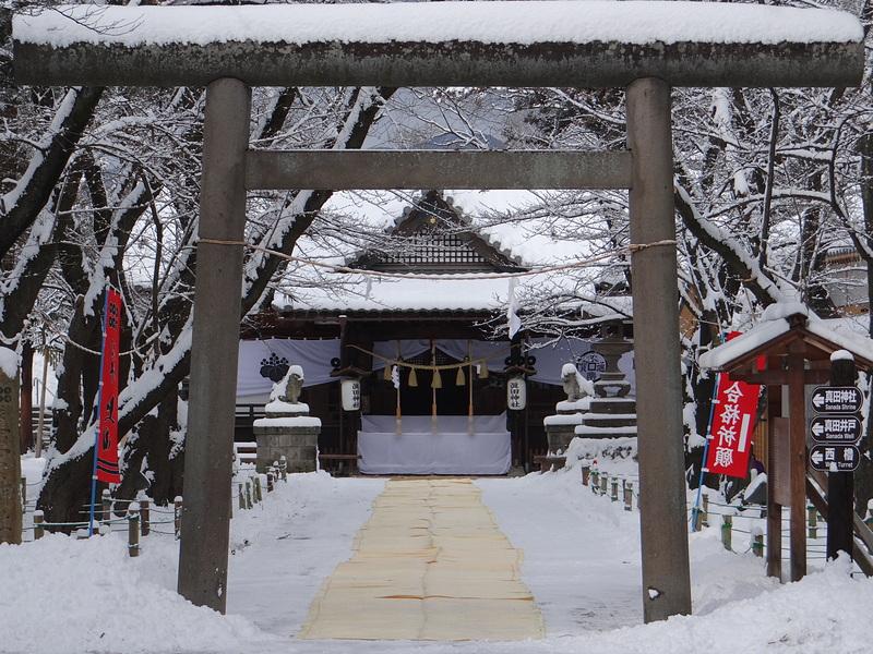 眞田神社[上田城]