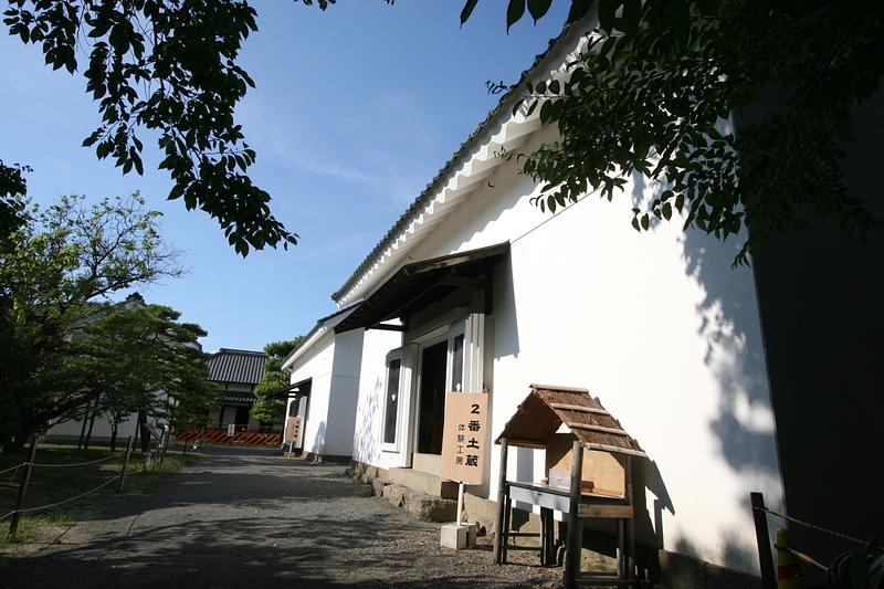 真田邸の土蔵
