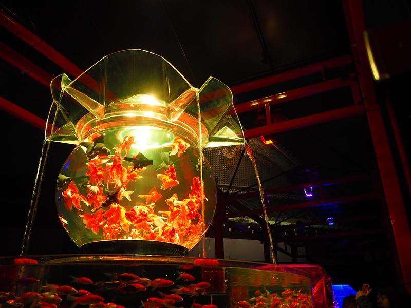 二の丸御殿と金魚鉢①