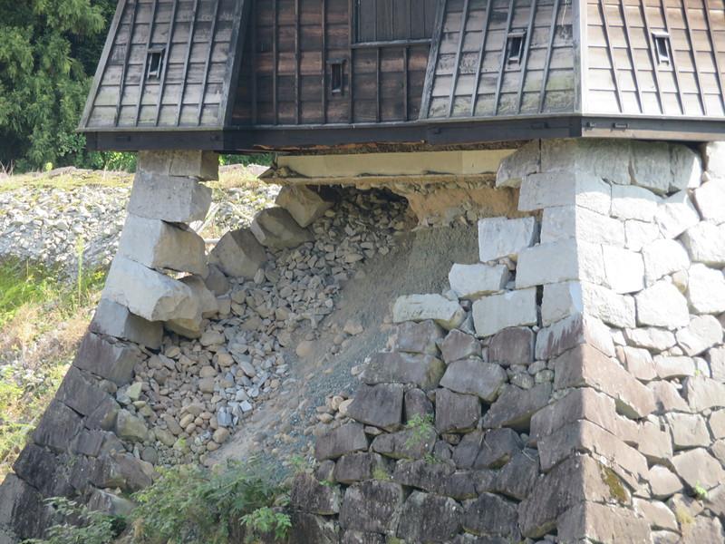 戌亥櫓の櫓台[熊本城]