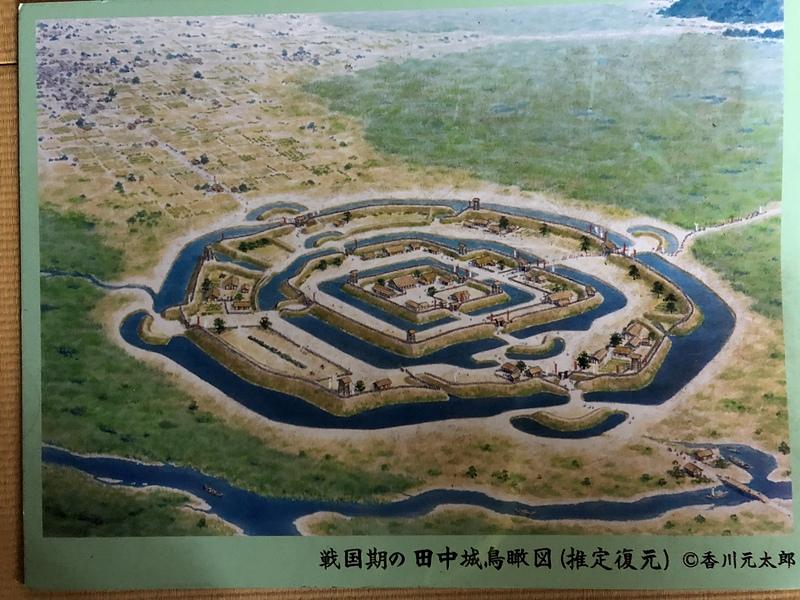 田中城の写真:田中城、最終形態! (想像図)   攻城団