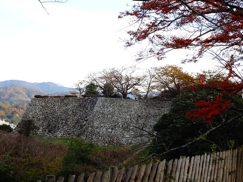 本丸(東側)の石垣