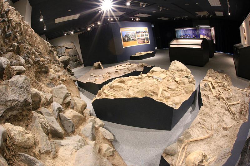 有馬キリシタン遺産記念館 展示室[原城]