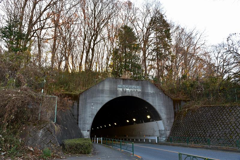小田野トンネル南側