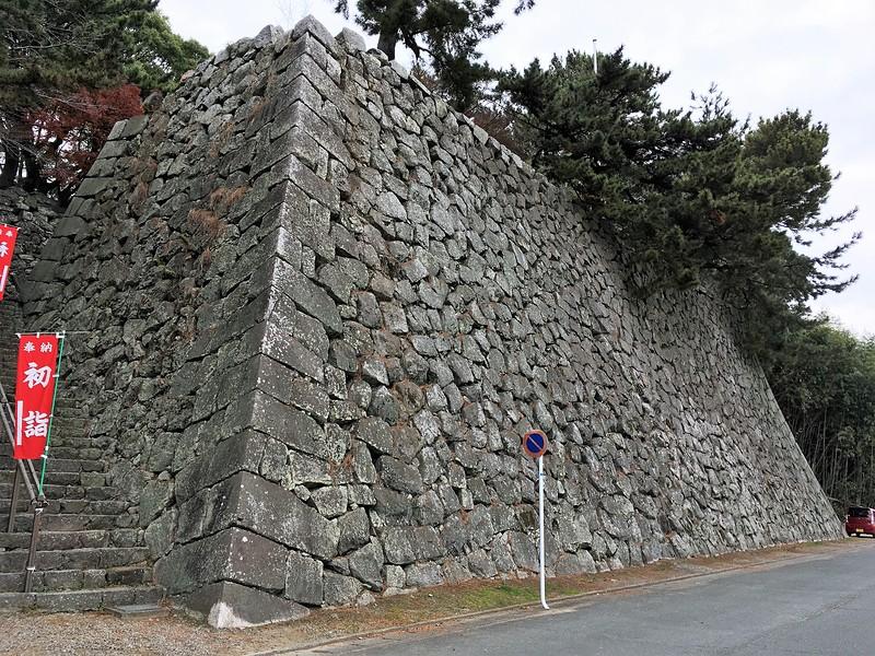 月見櫓跡石垣