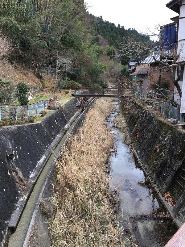岩村城の写真:岩村川 | 攻城団