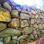 石垣◆伝池田氏屋敷跡外側