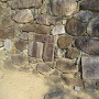 石垣の転用石