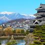 アルプスと松本城