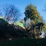 本丸土塁と門、絶賛築城中