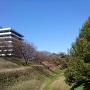 清水橋から眺める空堀