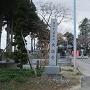 寺内駐車場と伊達氏御廟
