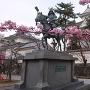 春の大垣城