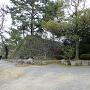 登り道付近の石垣