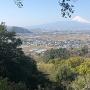 韮山城と富士