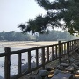 萩城 潮入門跡上の展望台から