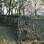 弓櫓跡(北側)