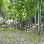 出郭側の竪堀っぽい地形