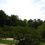橋の上から岡崎城