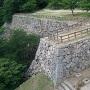 三階櫓から裏御門