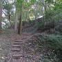 弓場城への道