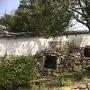狸櫓横の石垣