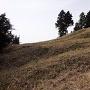 鷹取城 畝状竪堀群④
