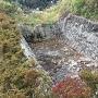 第二曲輪の堀